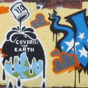OIL COVER(s) THE EARTH